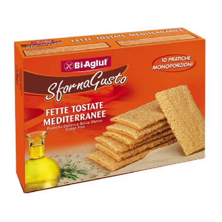 BIAGLUT FETTE TOST CLASS10X24G